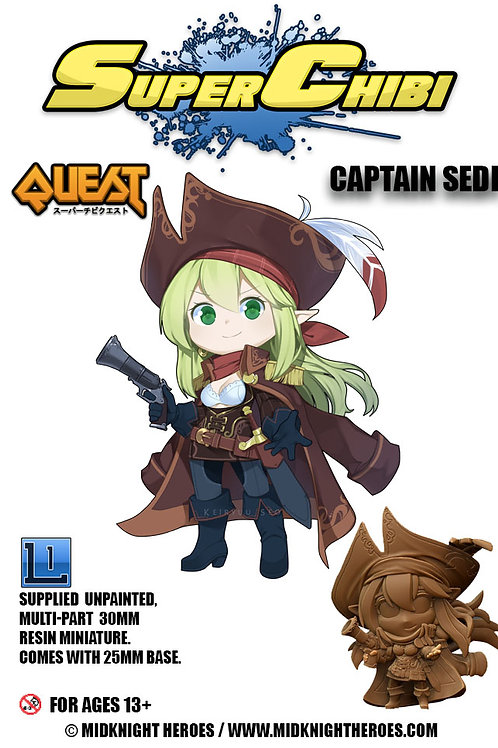 "Super Chibi "" Captain Sedi"""
