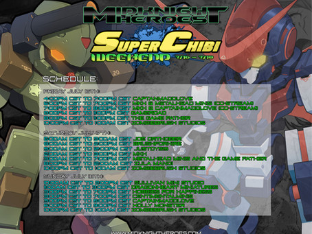 Super Chibi Weekend this weekend! July 16th - 18th