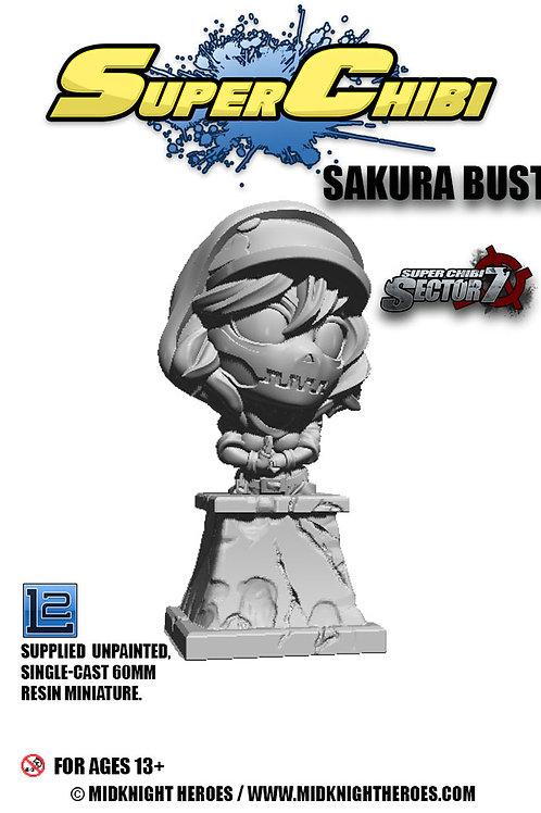 """Super Chibi """"Sakura Bust"""""""