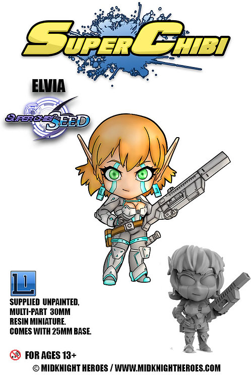 "Super Chibi "" Elvia"""
