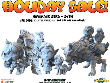 The holiday Sale starts now! November 23rd - 27th