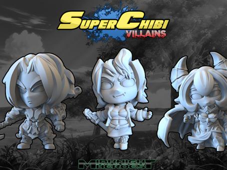 Super Chibi Villains Kickstarter now live!