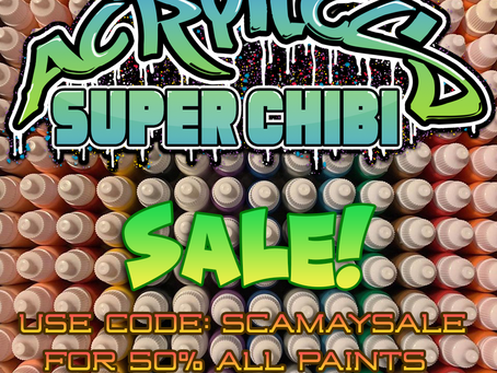 Super Chibi Acrylics May sale!