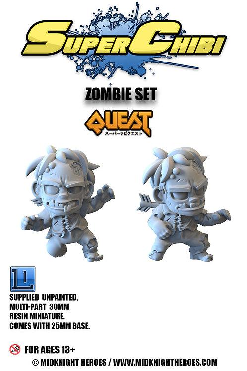 "Super Chibi ""Zombie"" Set"