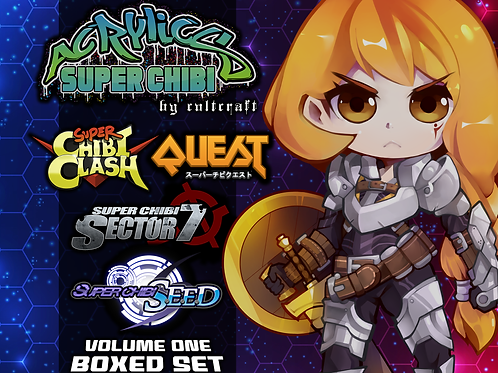 Super Chibi Acrylics Volume One