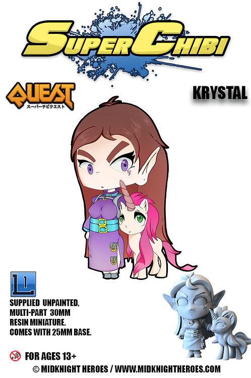 """Super Chibi """"Krystal"""""""