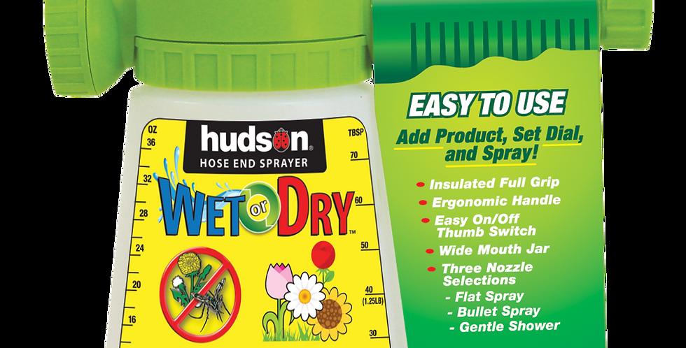 Hudson® Wet/Dry Hose End Sprayer