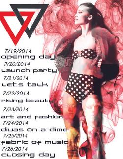 Delaware Fashion Week Flyer