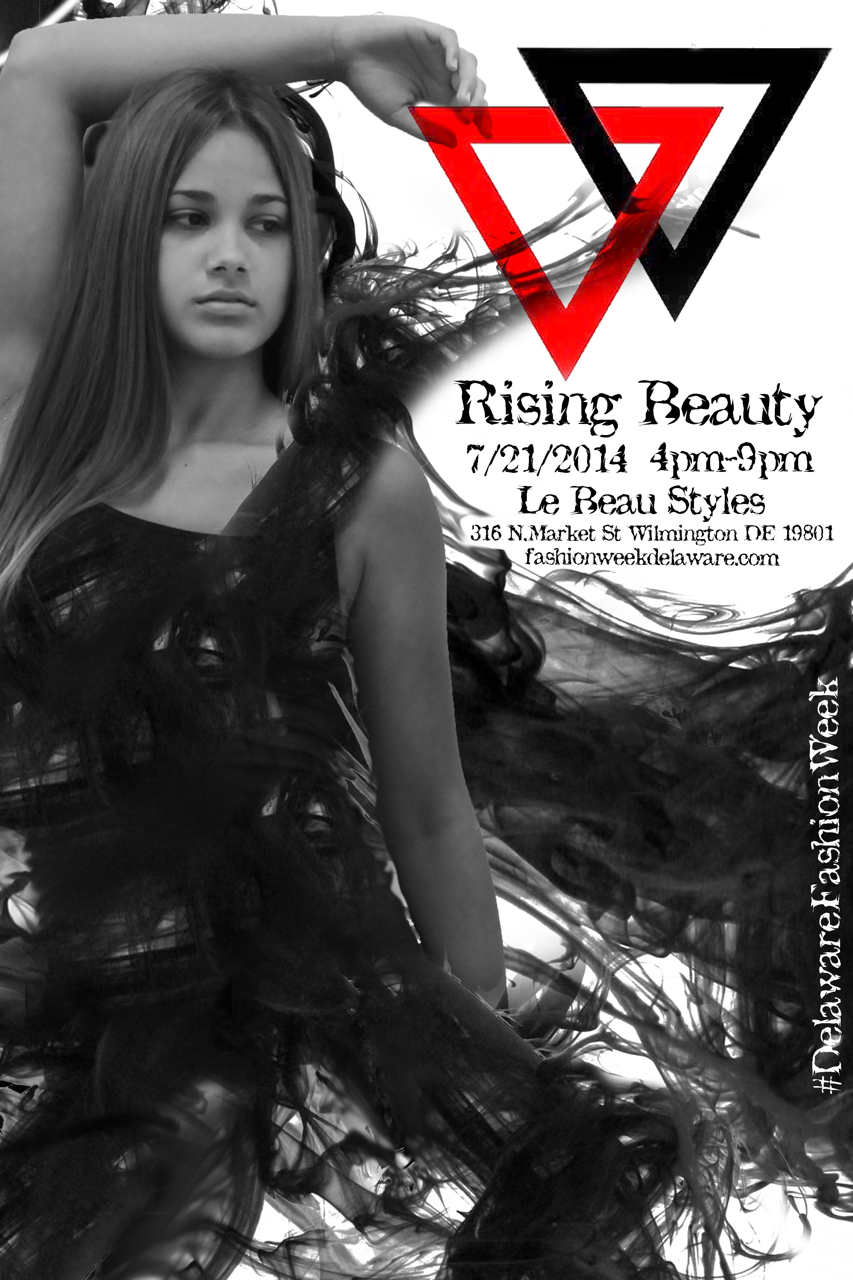Rising Beauty Flyer