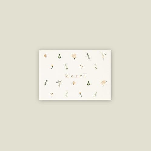 Petite Fleur - Carte de remerciement