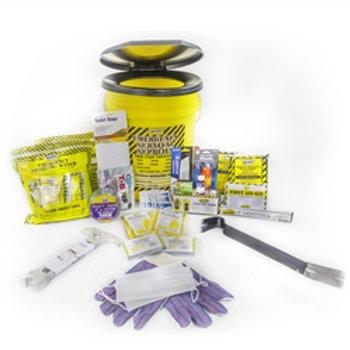 13036 - 2 Person Deluxe Emergency Honey Bucket Kits