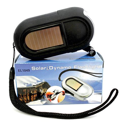75577 Solar Dynamo 3 LED Flashlight