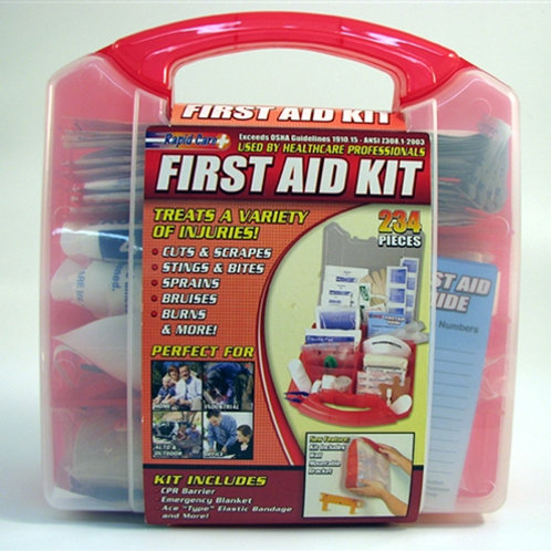 10386 - 234 Piece First Aid Kit
