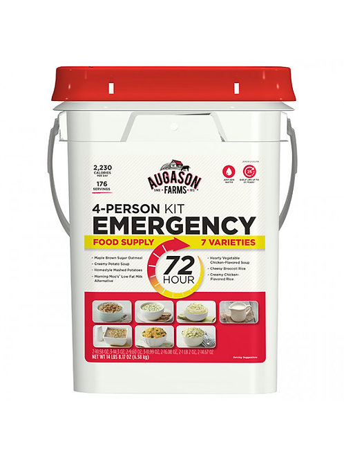 12191 72-Hour 4-Person Emergency Food Supply Kit