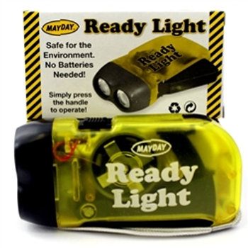 "11013 - ""Ready Light"" Dynamo Flashlight  (Case of 200)"