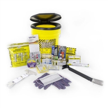 13034 - 1 Person Deluxe Emergency Honey Bucket Kits