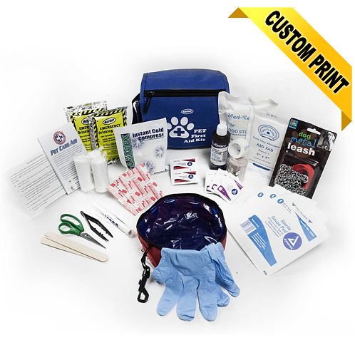 10383 Pet First Aid Kit Deluxe (Veterinarian Approved)