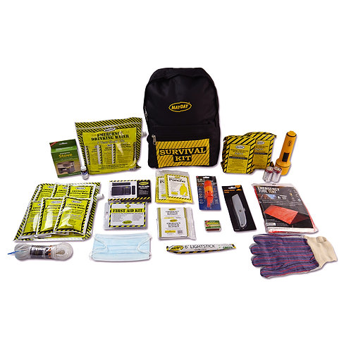 13035 - 2 Person Deluxe Emergency Backpack Kits