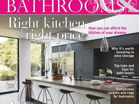 YellowDoor is featured in Kitchens, Bedrooms & Bathrooms magazine