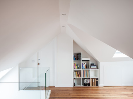 Cheryl & Alec's Loft Conversion is photographed by Adelina Iliev
