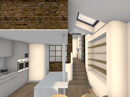 Project in Stoke Newington starts onsite