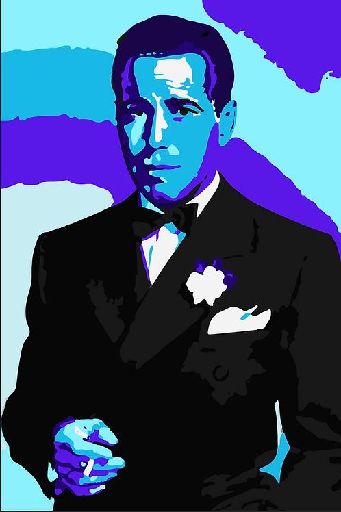 """Bogart"" Print - Premium Artist Paper"