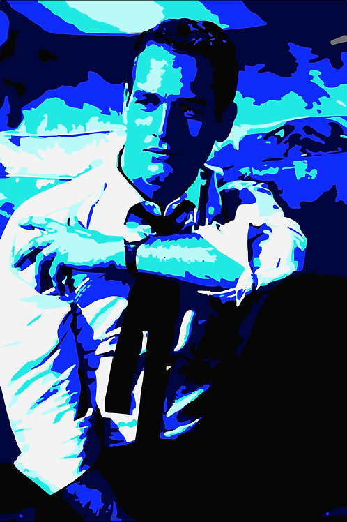 """Paul Newman"" Canvas Print"