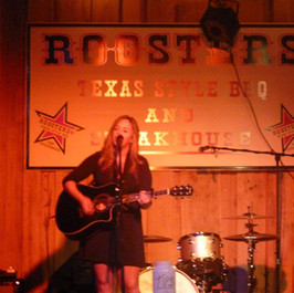 Performing at Roosters, 2012