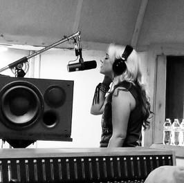 Studio session, 2017