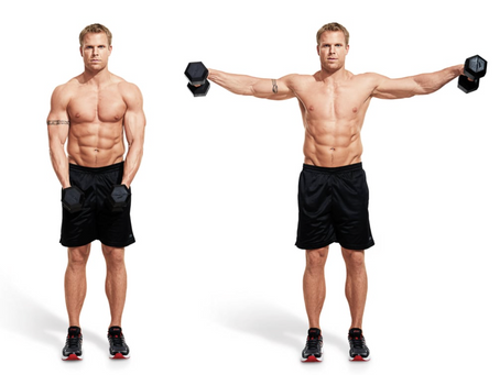 Lateral Raise (Middle Deltoids)