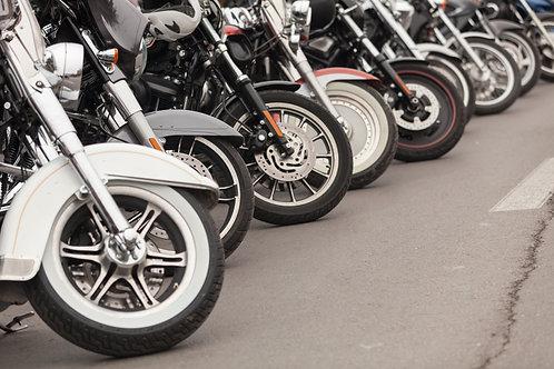 Motorcycle Registration - Rider & Passenger