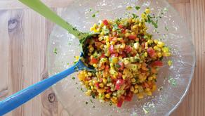 La salade de pâtes rafraîchissante au citron et au parmesan