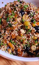 La salade de riz