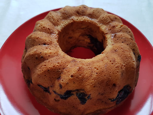 Gâteau yogourt aux myrtilles