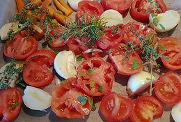Coulis de tomates confites au four