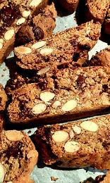 Cantucci rustiques aux pépites de chocolat