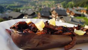 Woualala c'est très très bon, l'aubergine rôtie aux oignons frits et au citron