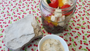 "La salade de lentilles ""Randonnée à Folegandros"""