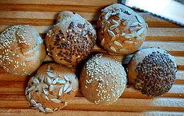 Petits pains à la farine de seigle
