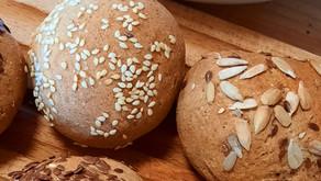 Petits pains moelleux à la farine de seigle