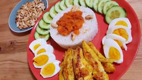 Saveurs de Malaisie: le Nasi Lemak de Nitha