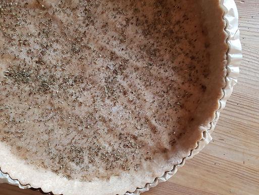Pâte brisée légère, base pour tartes et quiches