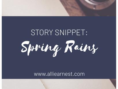"Hallie: ""Spring Rains"""