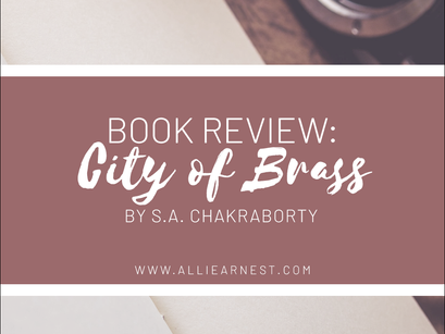 CITY OF BRASS by S.A. Chakraborty