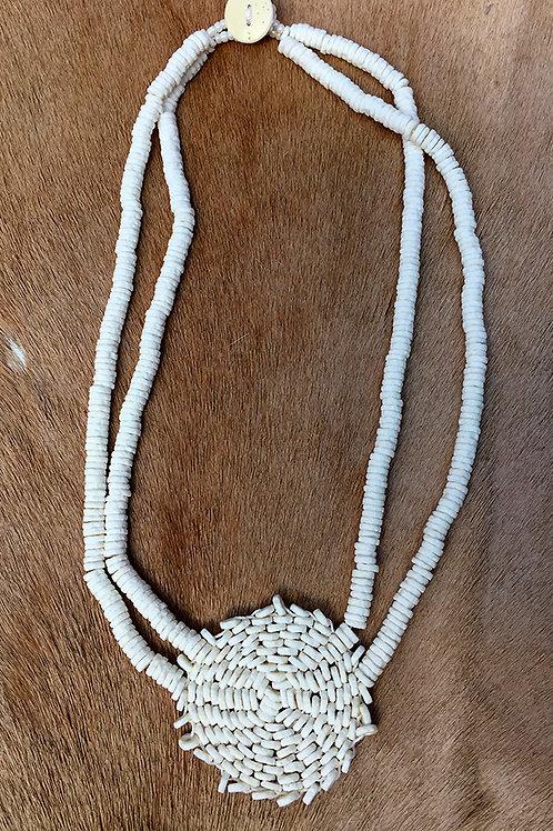 Halsketting Nyae Nyae Sun Ivory