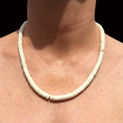 Necklace White Thin