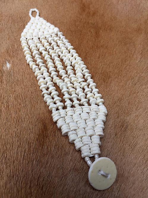 Armband Nyae Nyae White Beads
