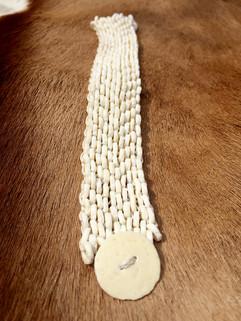 Bracelet Wide White