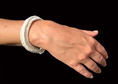 Bracelet White Thin