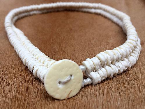 Halsketting Ivory Double Strand